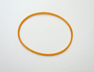 普通の輪ゴム